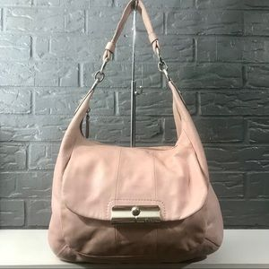 Coach Kristin Convertible Leather Large Hobo